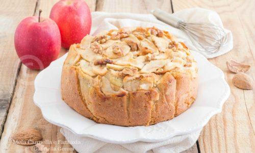 Torta mele e noci al profumo di cannella… golosissima!