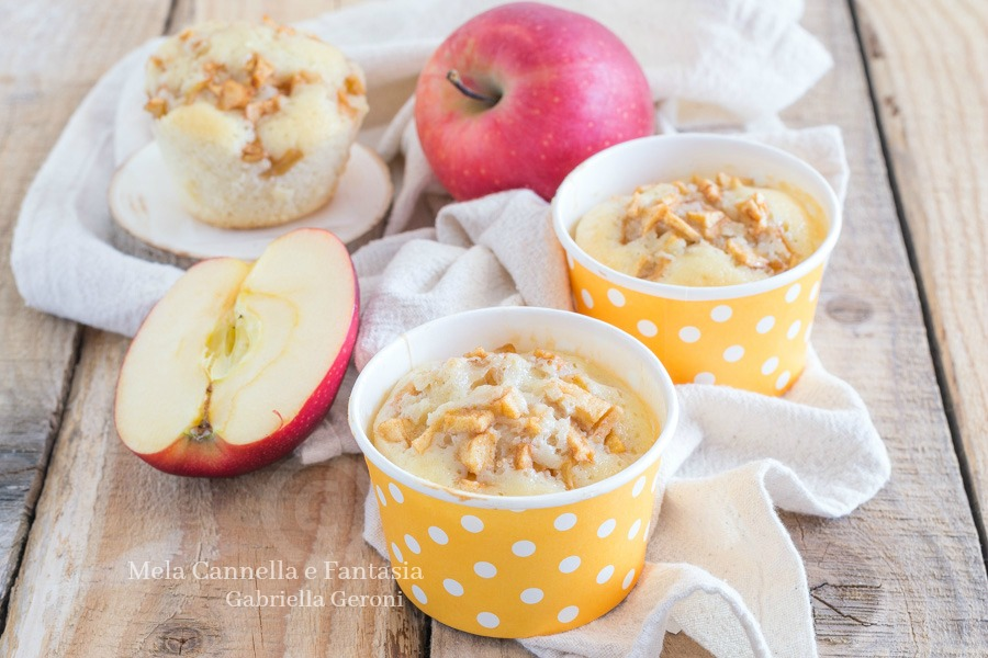 muffins con le mele