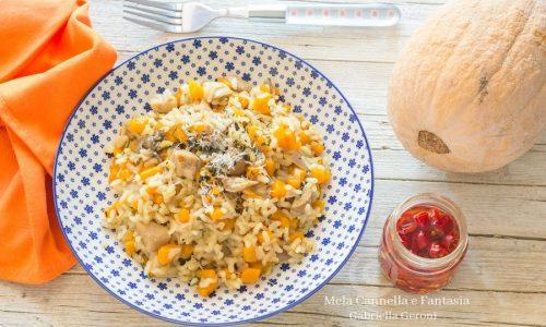Risotto porcini e zucca – primo piatto facile e veloce
