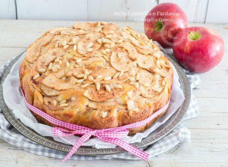 Torta speziata di mele con zenzero e cannella senza burro