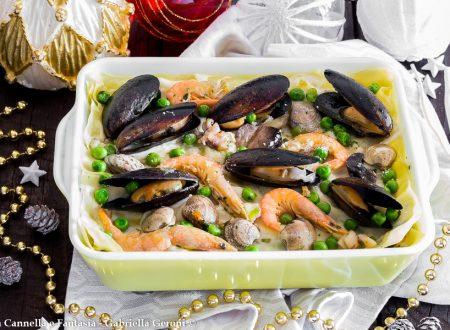 Lasagna mare e monti ricetta primo piatto gustosissimo