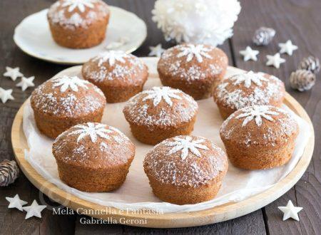 Muffin con la nutella nell'impasto morbidi e golosissimi
