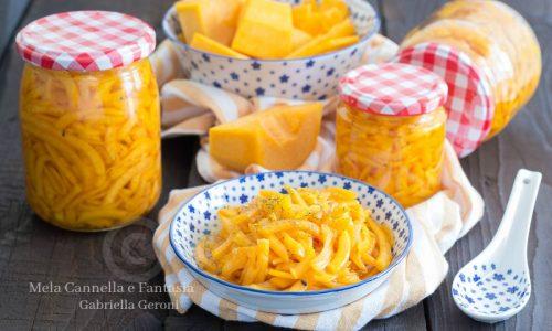 Zucca in agrodolce ricetta facile per contorni sfiziosi
