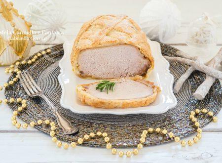 Arista di maiale in crosta di pasta sfoglia ricetta facile