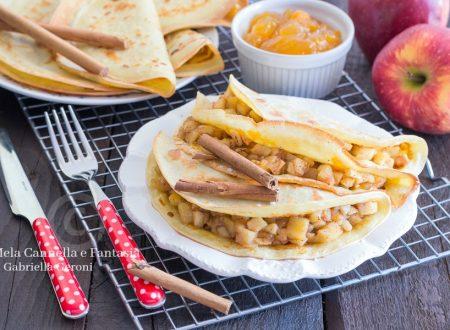 Crepes alle mele e cannella ricetta dolce facile e veloce
