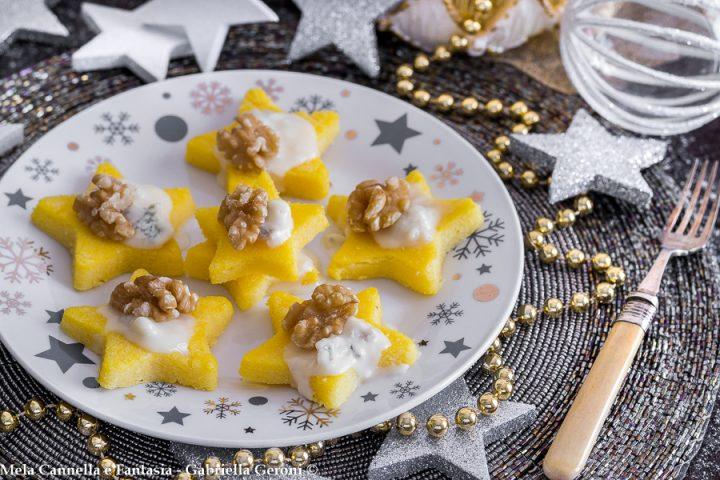 tartine di polenta al forno