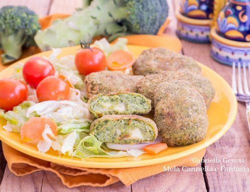 Polpette di broccoli e fontina ricetta vegetariana facile