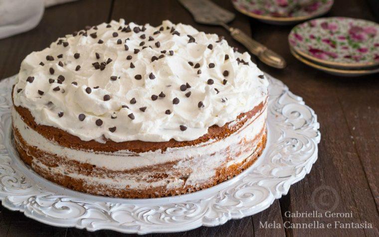 Torta cioccolato e panna perfetta anche per compleanni
