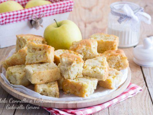 Biscotto con le mele morbido come una torta senza burro