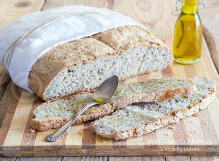 Pagnotta di grano saraceno fatta in casa ricetta veloce