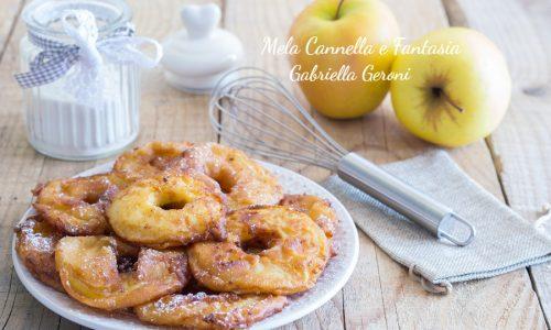 Ricetta mele in pastella fritte al profumo di cannella