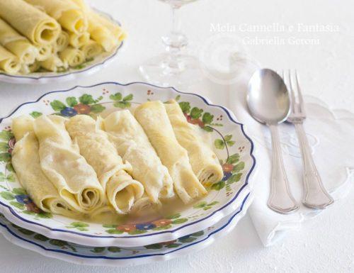Scrippelle 'mbusse teramane – ricetta tipica di famiglia