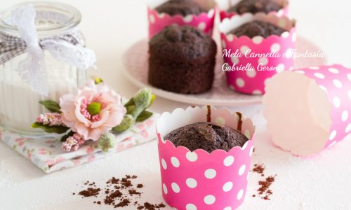 Muffins rum e cioccolato morbidissimi e senza burro