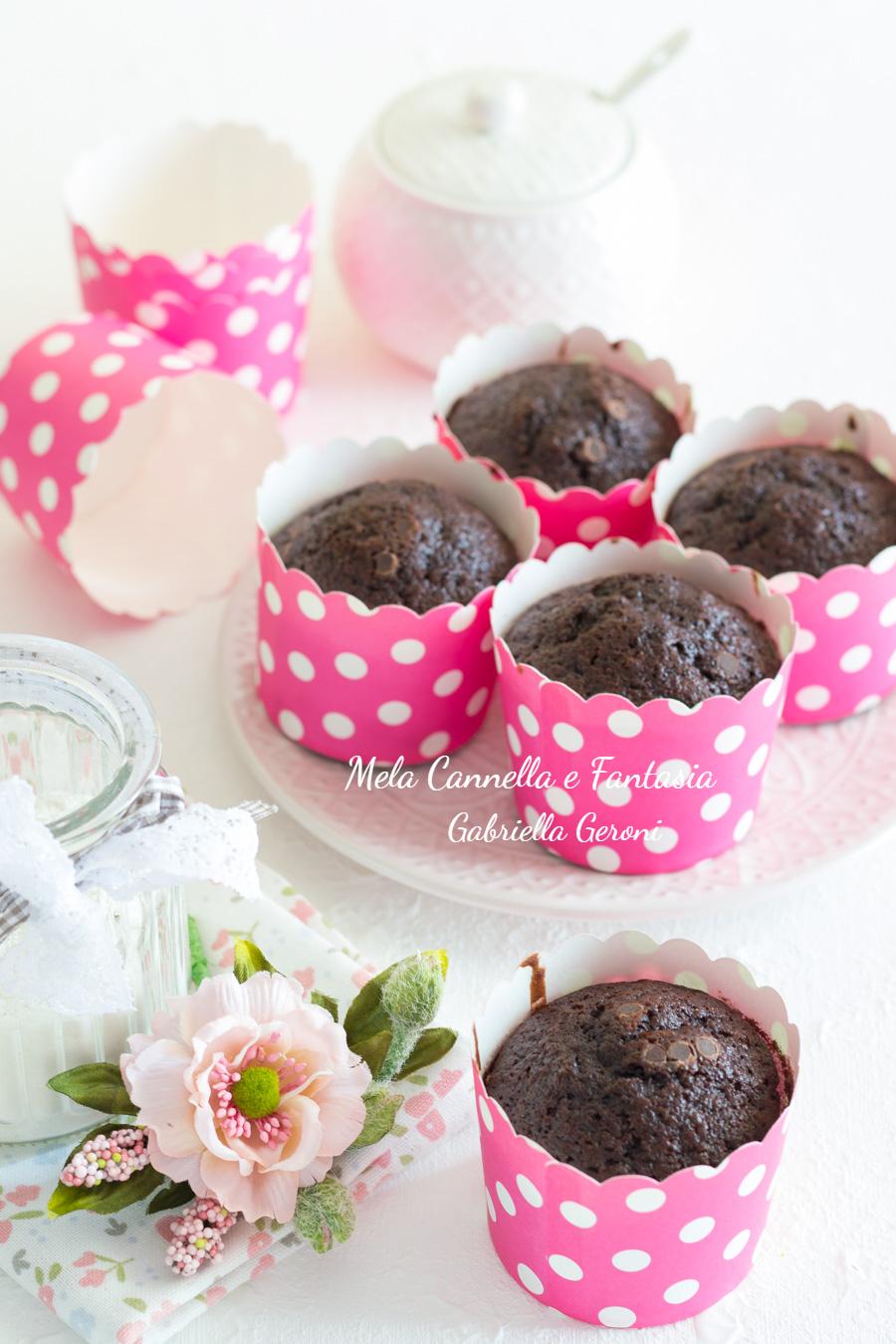 muffins rum e cioccolato