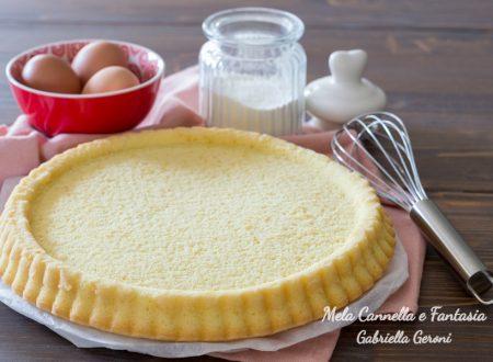 Crostata morbida senza burro ricetta base per dolci