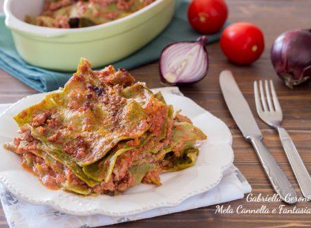 Lasagne verdi con ragù ricetta tradizionale