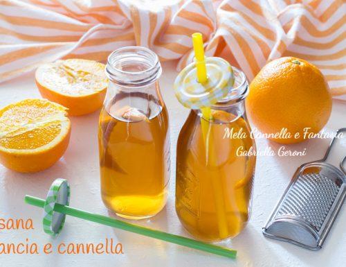 Ricetta tisana arancia e cannella
