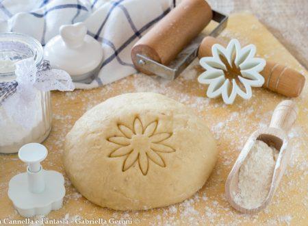 Frolla con farina di riso senza burro per biscotti e crostate