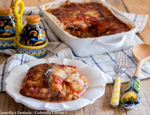 Melanzane alla parmigiana ricetta classica