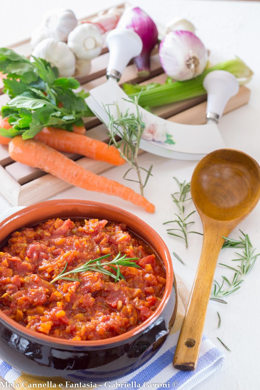 ragù vegetariano ricetta