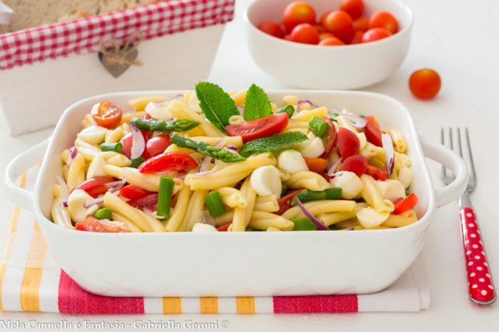 pasta fredda vegetariana