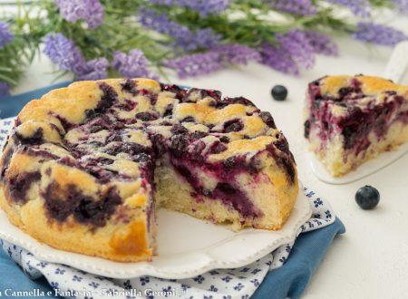 Torta con mirtilli freschi (Blueberries cake)... golosissima!
