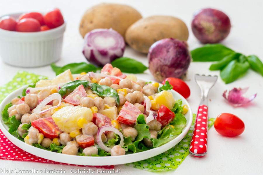 insalata fredda di ceci