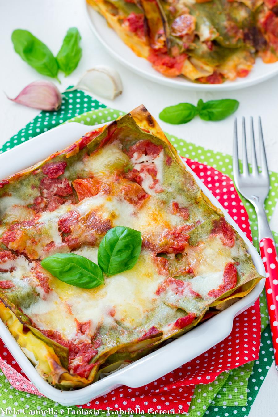 lasagne alla sorrentina ricetta