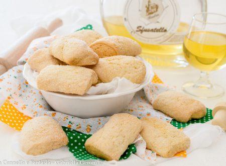 Biscotti al limoncello senza burro e senza latte