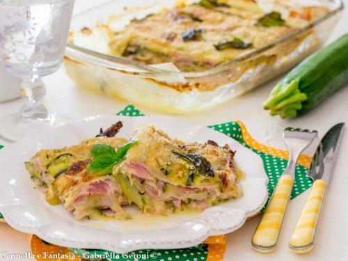 Sformato di zucchine cotto e mozzarella gustosissimo