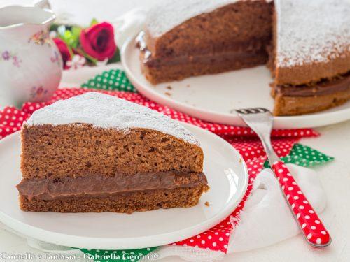Torta Nutella e mascarpone, ricetta di famiglia facile e veloce