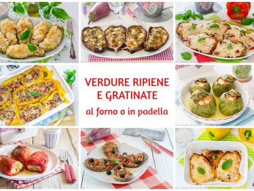 Verdure ripiene al forno o in padella ricette facili e gustose