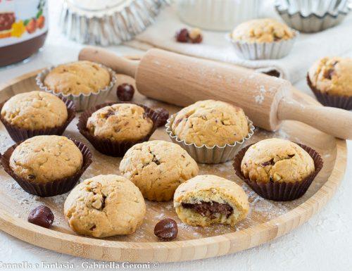 Biscotti alle nocciole farciti con nutella ricetta facile e golosissima