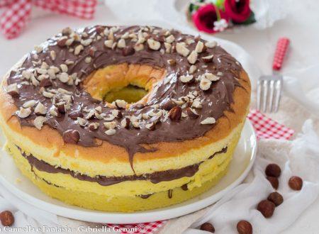 Chiffon cake con Nutella e nocciole… golosissima!