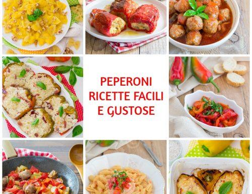 Peperoni ricette facili e gustose