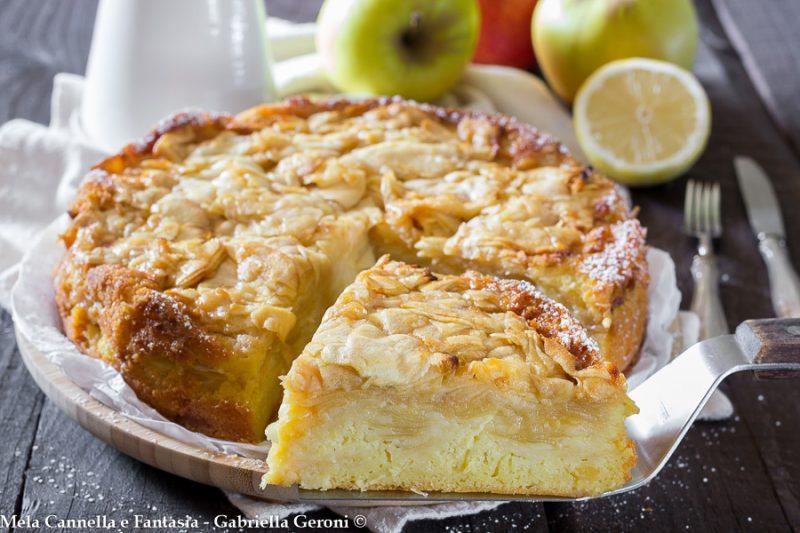 Torta di mele cremosa la più morbida che ci sia…!!