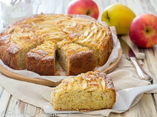 Torta mele e mandorle morbidissima e golosissima!