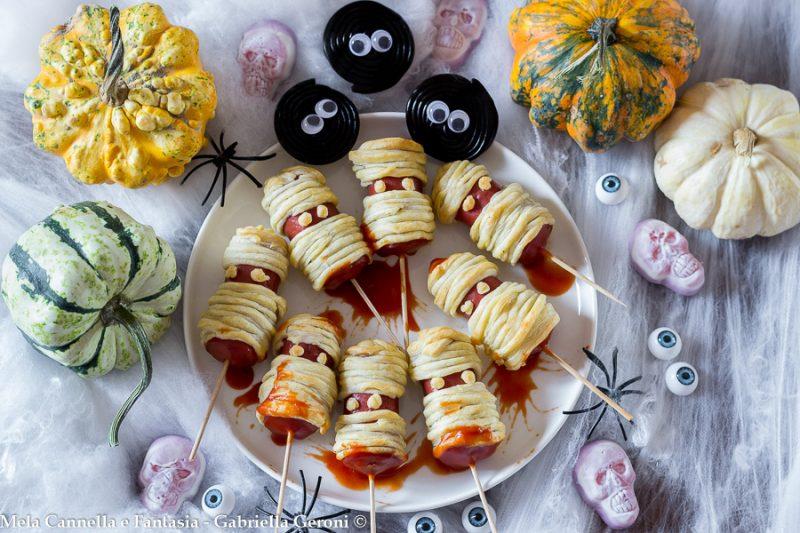 Mummie wurstel ricetta Halloween facile e veloce