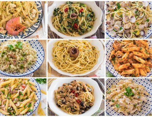 Primi piatti di pesce raccolta di ricette facili e gustose