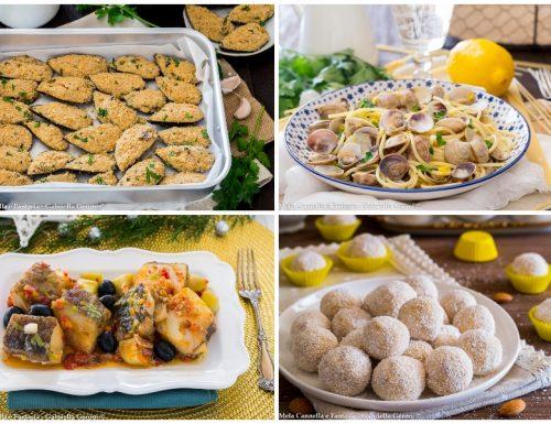Menù di pesce per la Vigilia ricette facili e gustose