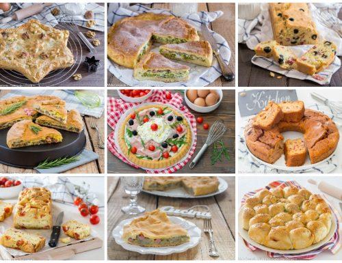 Speciale torte salate per antipasti feste e ricorrenze