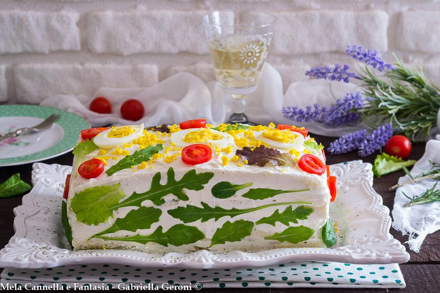 torta tramezzino farcita