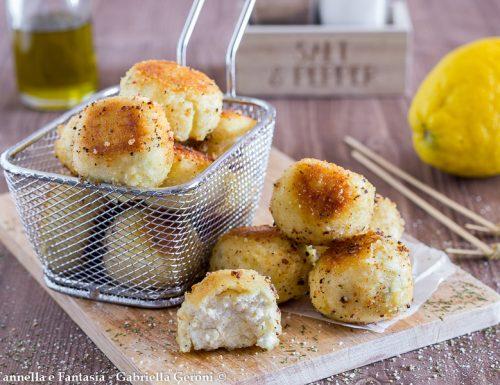 Polpette di ricotta al profumo di limone ricetta facile e veloce