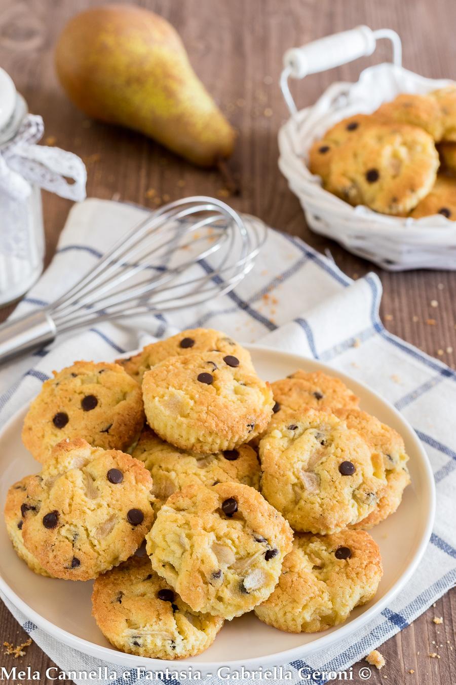 biscotti alle pere