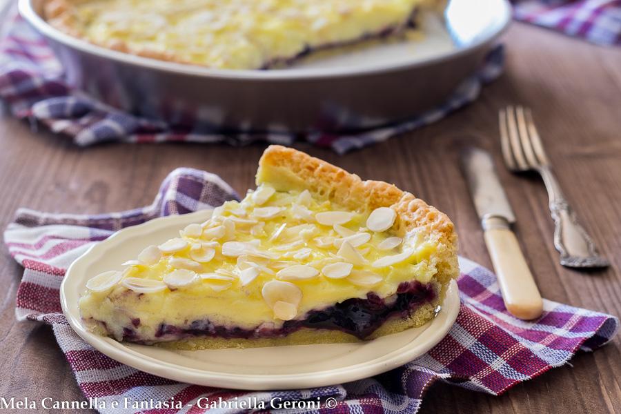 crostata crema e confettura