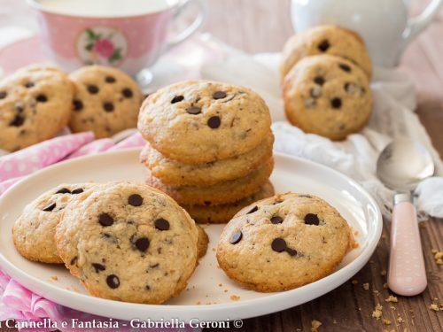 Cookies alle nocciole biscotti americani morbidi e golosissimi