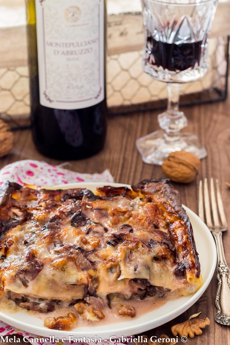lasagna radicchio