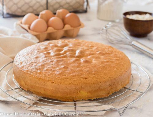 Pan di spagna ricetta dosi e consigli senza usare il lievito