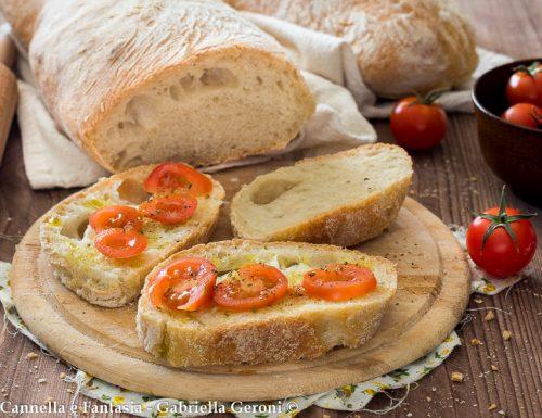 Ricetta pane senza impasto detto anche pane cafone