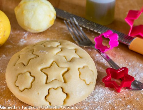 Pasta frolla senza burro per crostate biscotti e dolcetti vari